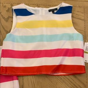 Adorable two piece girls dress new with tags